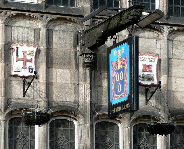 The Giffard Arms (detail), Victoria Street, Wolverhampton