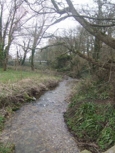 Stream flowing into Branscombe Mouth