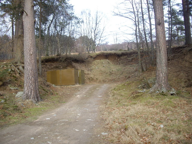 A small quarry near Woodend