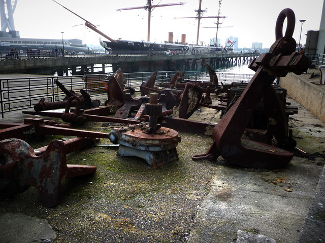 Some nautical ironwork
