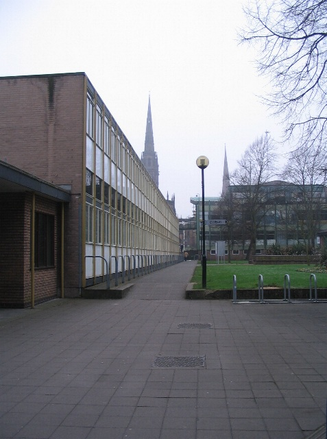 C Block, awaiting demolition