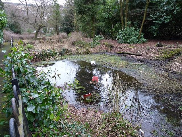 Wot no ducks? Bedwellty Park, Tredegar