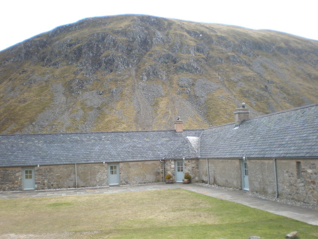 Converted Steading with Sith Mòr behind