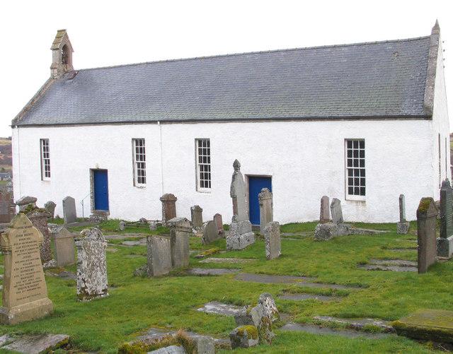 St Callans Church, Rogart