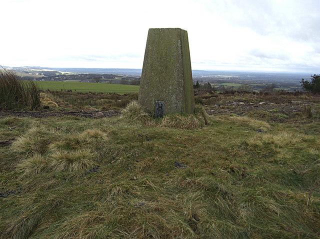 Cobden Edge trig pillar