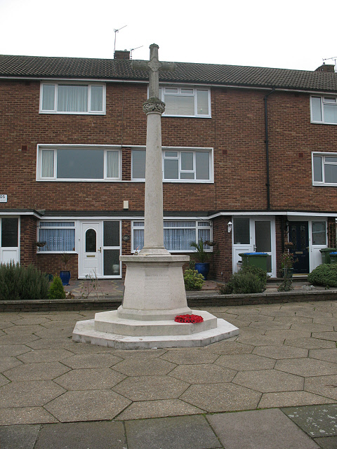 St Peter's parish war memorial, Courtlands Avenue, Lee