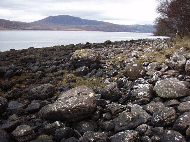 Shore of Little Loch Broom