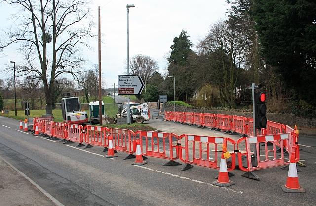 Road improvements, Barnard's Green