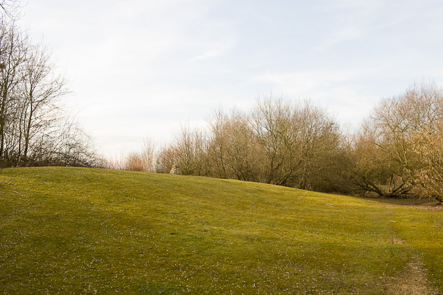 Viewing Mound at Knowle Hill, Fair Oak