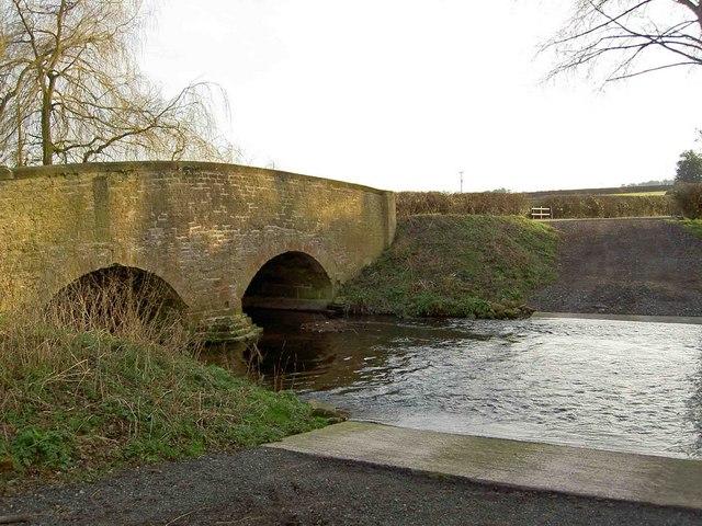 Ford across the River Ryton near Bilby