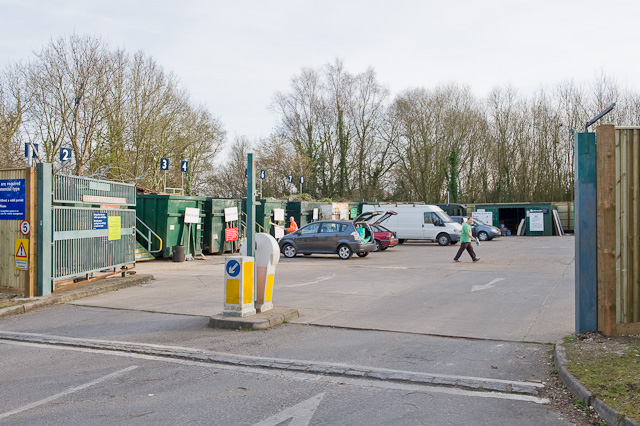 Household Waste Recycling Centre, Knowle Lane