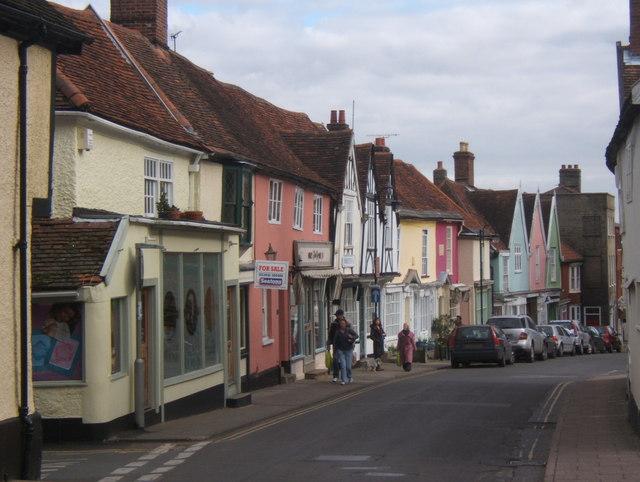Towards Woodbridge town centre