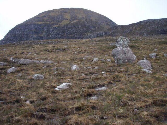Lower slopes of Sail Mhor
