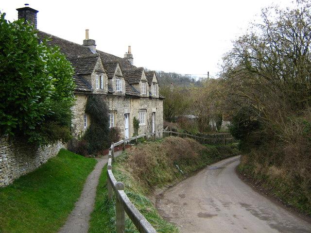 Lane through Slaughterford