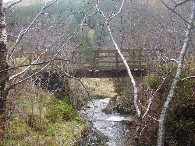 Bridge over Criogan Burn