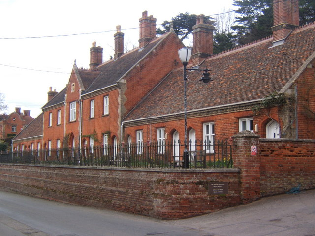 Almshouses, Seckford Street