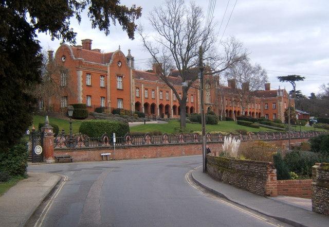 Seckford Hospital buildings