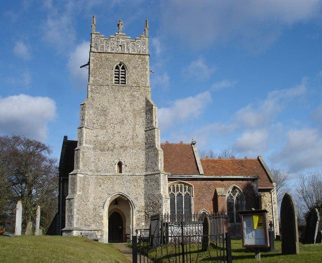 Newbourne church