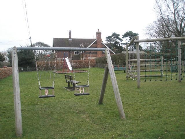 Playpark opposite St Peter's, High Cross