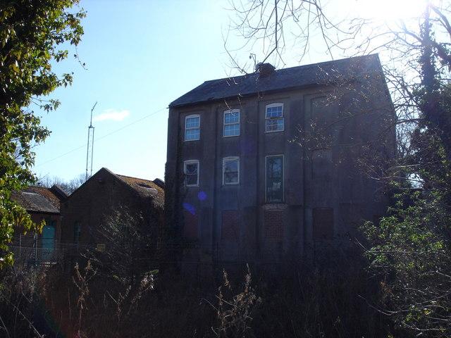Waterworks building outside Newbourne
