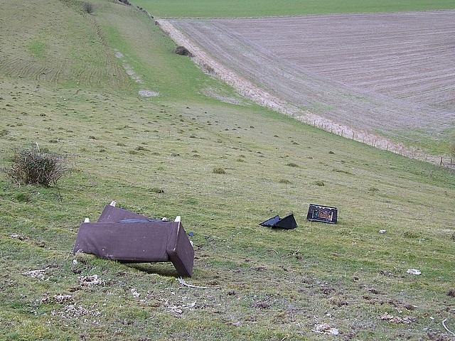 A blot on the landscape, Berwick St John