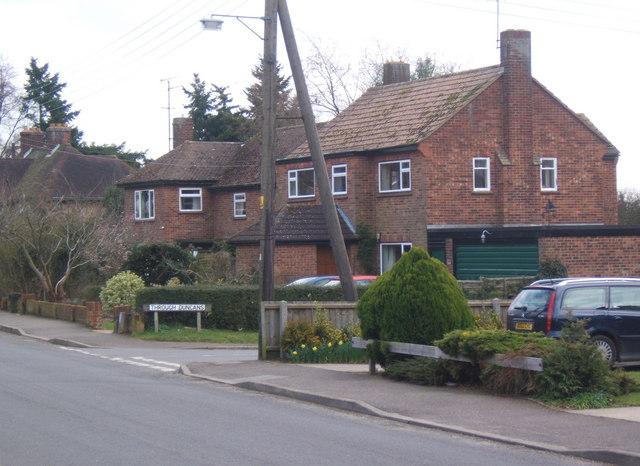 Houses on Warren Hill Road