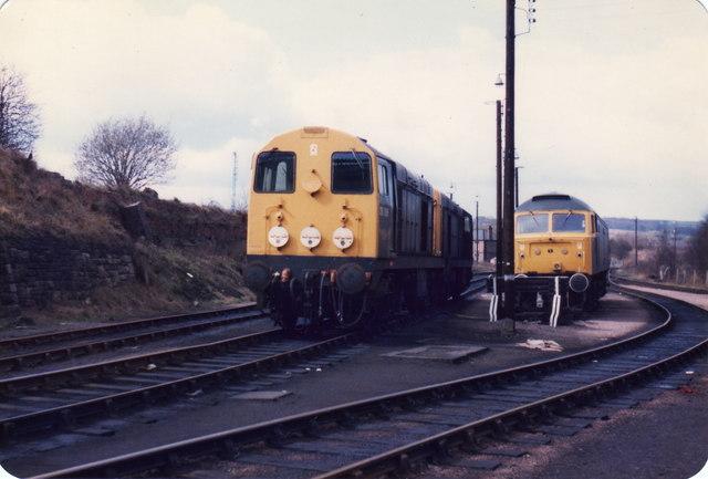 Barrow Hill loco depot