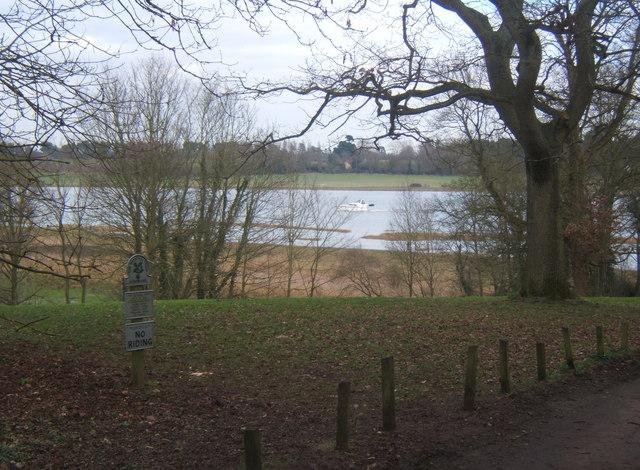 Kyson Hill overlooking the Deben