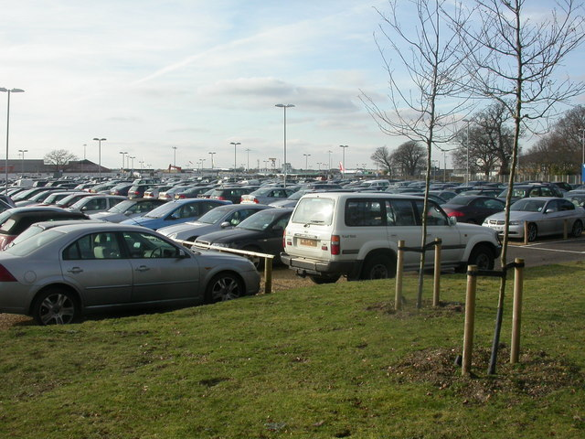 Bournemouth Airport, car park
