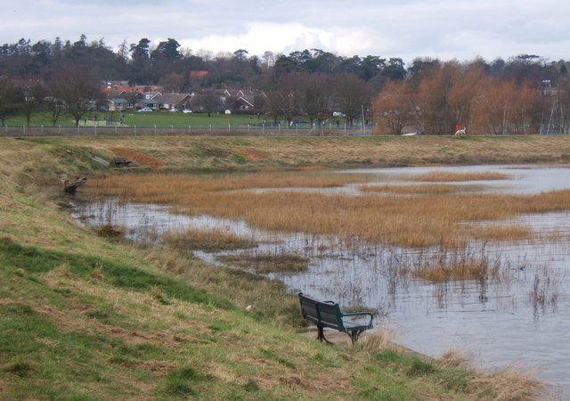A corner of the Deben at high tide