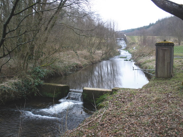 Reservoir outflow, Royston Water