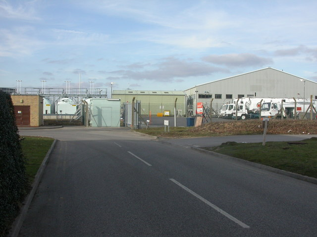 Bournemouth Airport, fuel depot