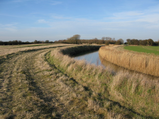 The River Wantsum on Chislet marshes