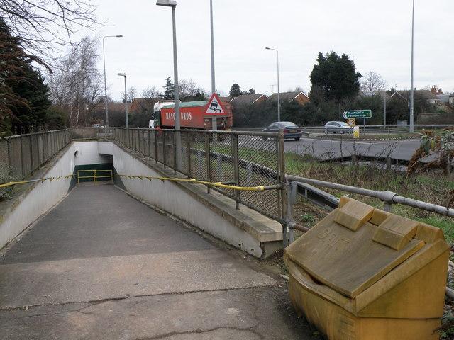 Subway under the A1 at Buckden