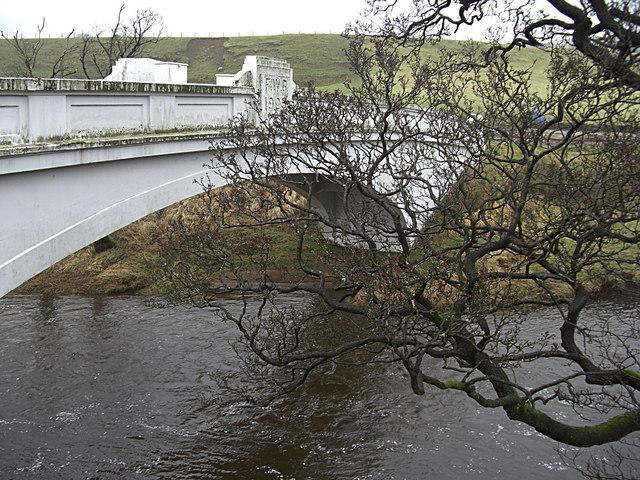 Aqueduct crossing the River Hodder
