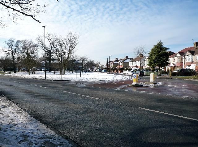 Popular Avenue - from Tentelow Lane - looking westwards