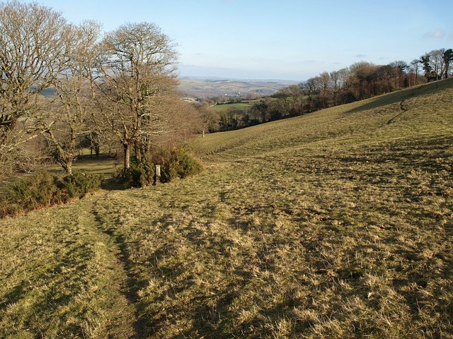 Footpath to Combe