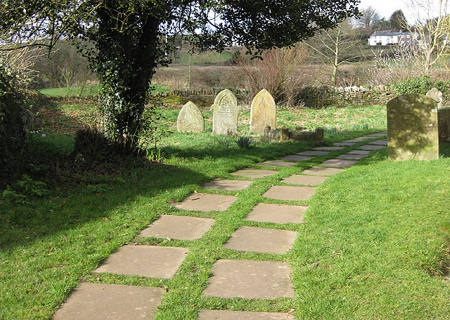 Path from St. Michael's, Garway