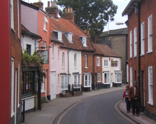 Narrow corner of New Street