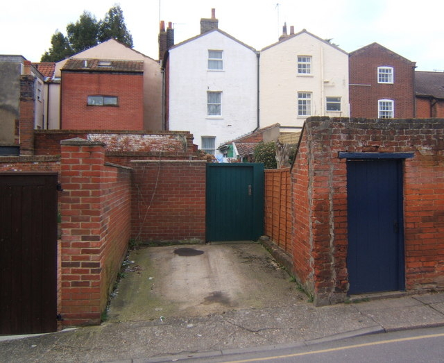 Woodbridge back street