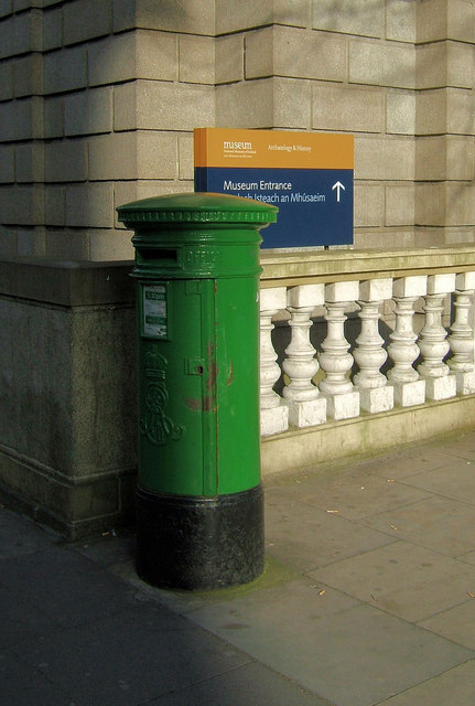 Pillar box in Kildare Street, Dublin