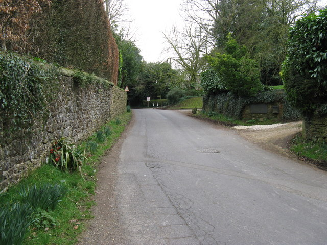 The Street ESE towards Thakeham church