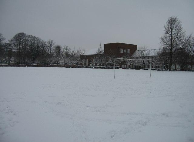 The Vyne School - winter scene