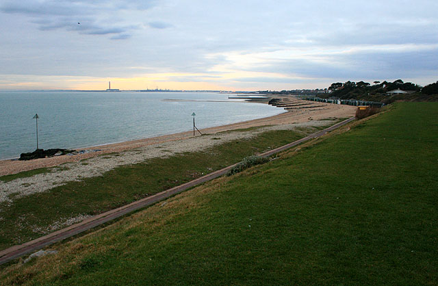 The Beach West of Lee-on-the-Solent