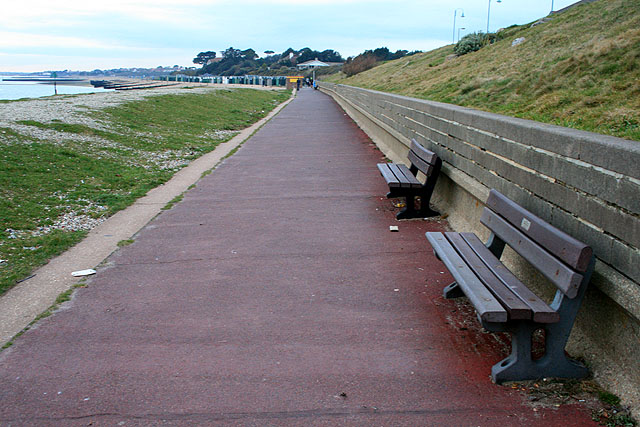 Benches on the Front
