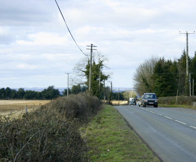 2009 : A342 north toward Derry Hill