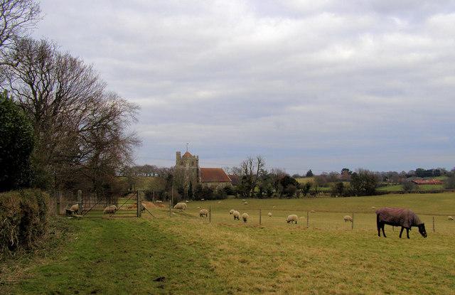 St Oswald's Church, Hooe