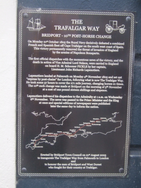 Trafalgar Way - tenth post-horse change
