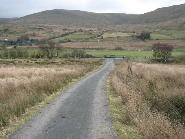 The lane to Gwerngraig