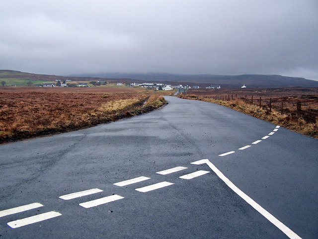 B884 towards Lonmore